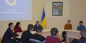 Голова суду Віталій Кузьмишин зустрівся зі студентами ДонНУ