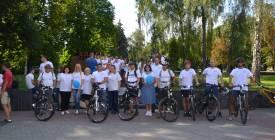 Вулиці Вінниці радо вітали колону велосипедистів-правників