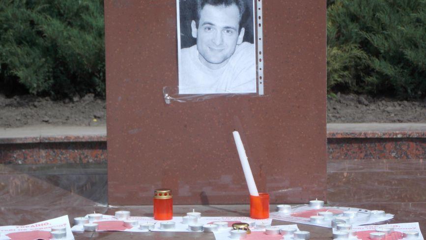 Вінницькі журналісти запалили свічки в пам`ять Гонгадзе
