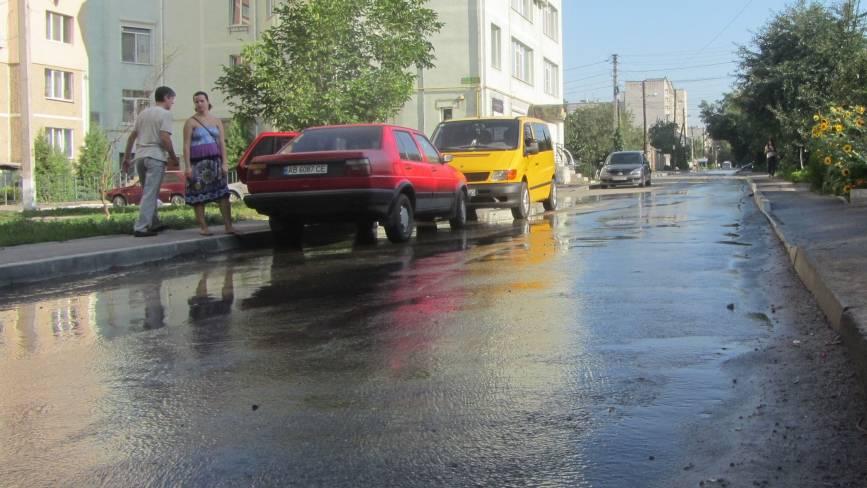«У «Водоканалі» всі повмирали?» - другу добу (!) у Вінниці витікає вода