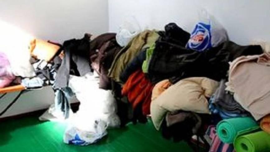 Речі, які знесли вінничанин для постраждалих калинівчан, передадуть у зону АТО