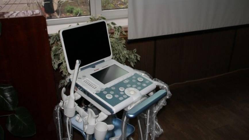 Обласний онкодиспансер отримав сучасний мобільний УЗД-апарат