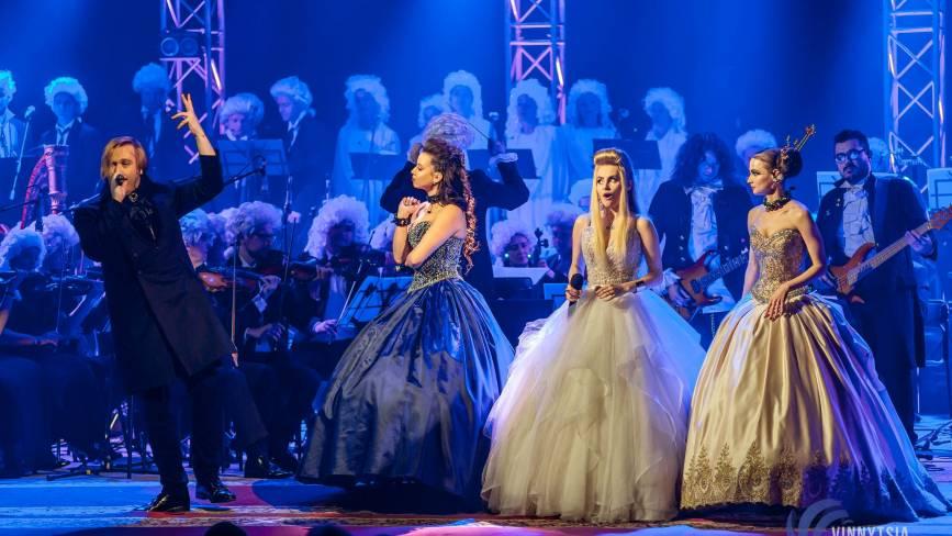 Вінниця зацінила рок-Моцарта з вінничанкою Василенко, солісткою «Pur:Pur», зірками «Х-Фактора» і гітаристами «Юркеш»