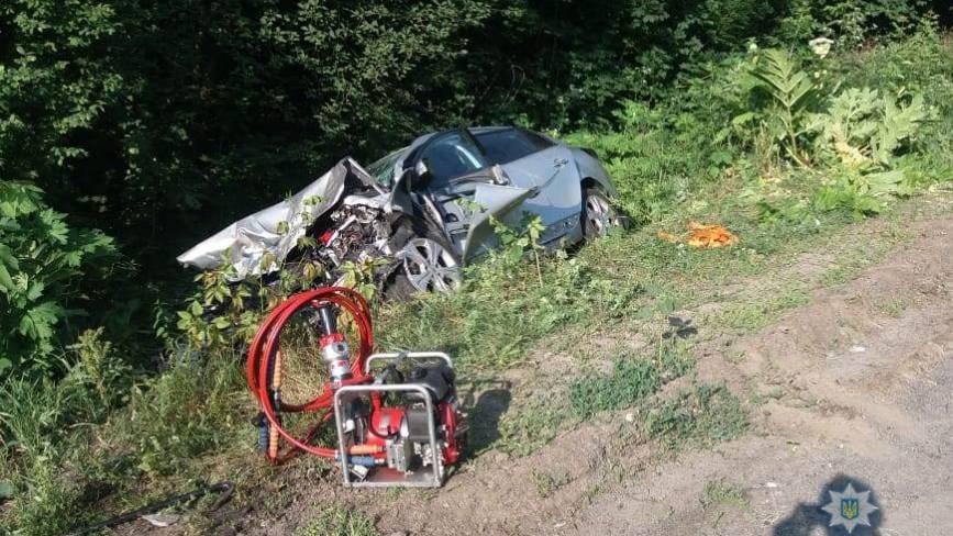 Лобове зіткнення на Літинщині: один загиблий та п'ятеро травмованих