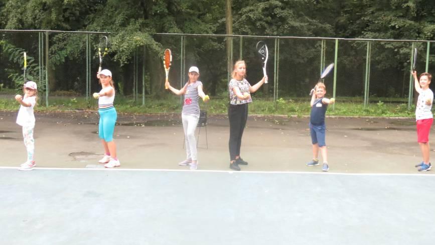 На великий теніс у Вінниці приймають із трьох років