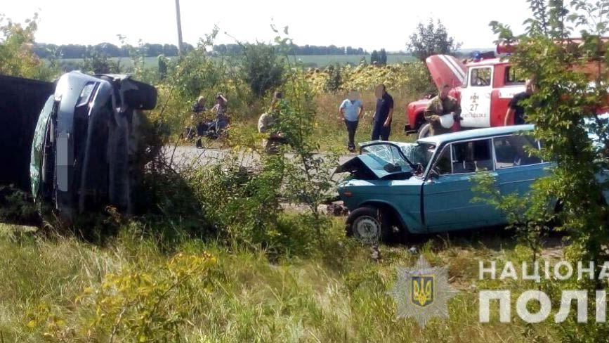 На Вінниччині Volkswagen в'їхав у «ВАЗ». Пасажир другого авто загинув