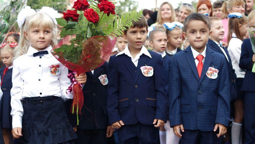 Емоційні фото. Як пройшов перший дзвоник у вінницьких школах