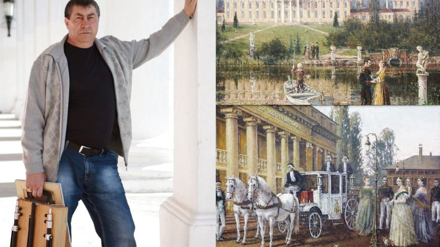 Хаотичний штрих і унікальні реконструкції Григорія Зорика, чиї картини зберігають навіть у Ла Скала!