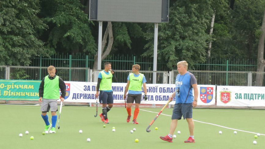 Збірна України з хокею на траві у Вінниці готується до чемпіонату Європи