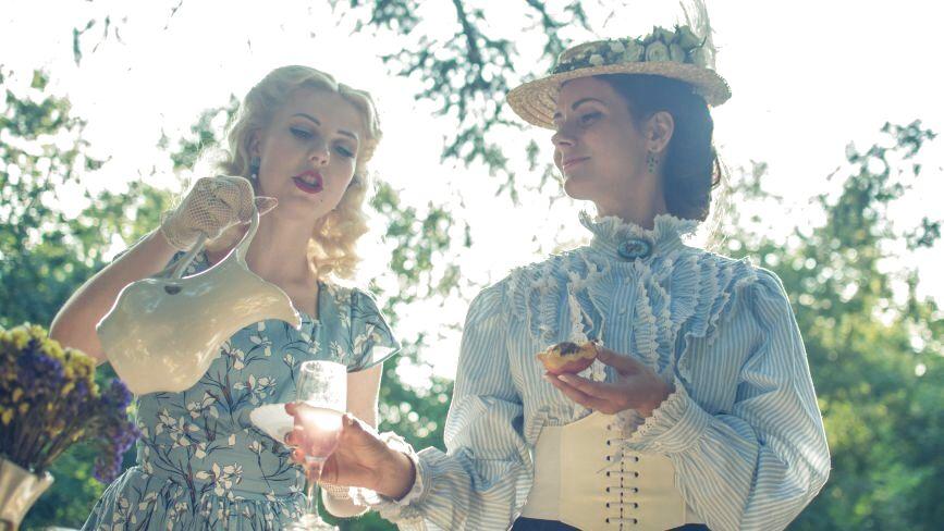 Регтайм, ретро-бадмінтон та лавандовий лимонад: як у Вінниці влаштували вінтажний пікнік