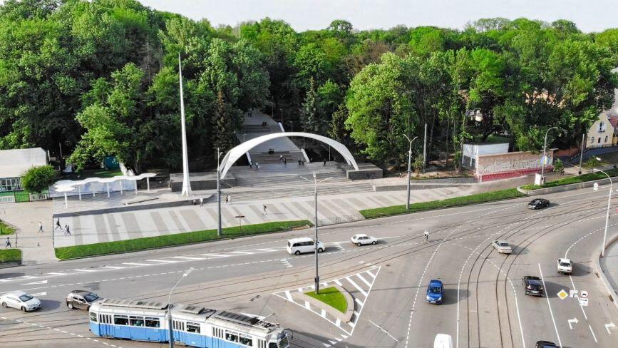 Ремонт Арки Центрального парку: з'ясували, на що витратять ще 5,3 мільйона гривень