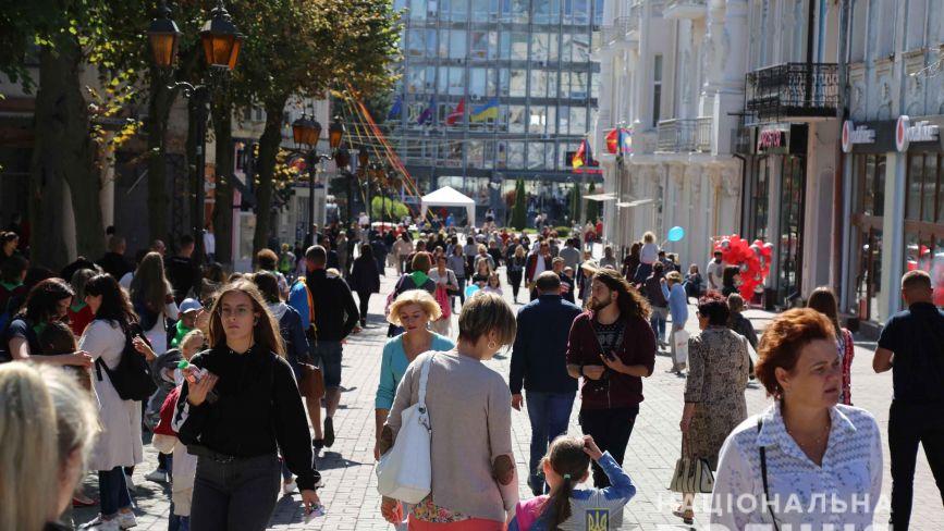 Поліція: святкування Дня міста Вінниці проходить без порушень