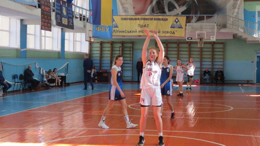 Жіночий баскетбол: «Вінницькі блискавки» стартували у вищій лізі перемогами