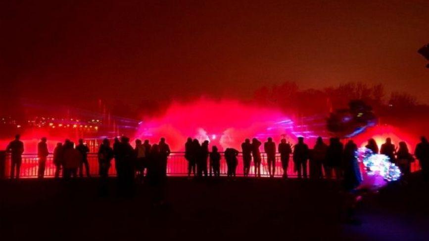 Без концерту та салюту: фонтан Roshen закрили на «зимову сплячку»
