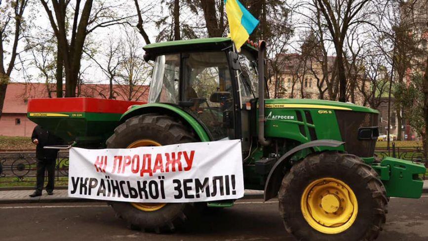 «Ні розпродажу України!»: аграрії перекриватимуть головні автомагістралі країни