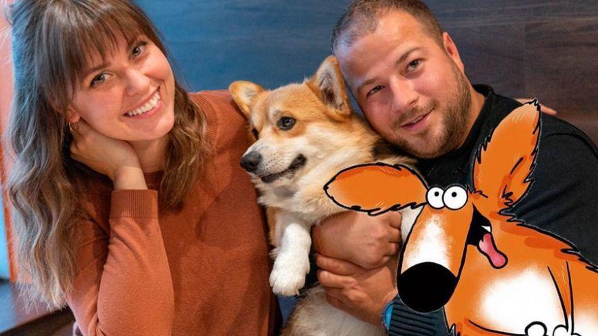 Собака на 100 тисяч. Як вінницька пара створила популярний Instagram з мемами коргі