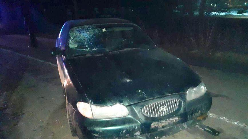 У Сальнику Hyundai збив жінку-велосипедиста. Потерпіла у важкому стані