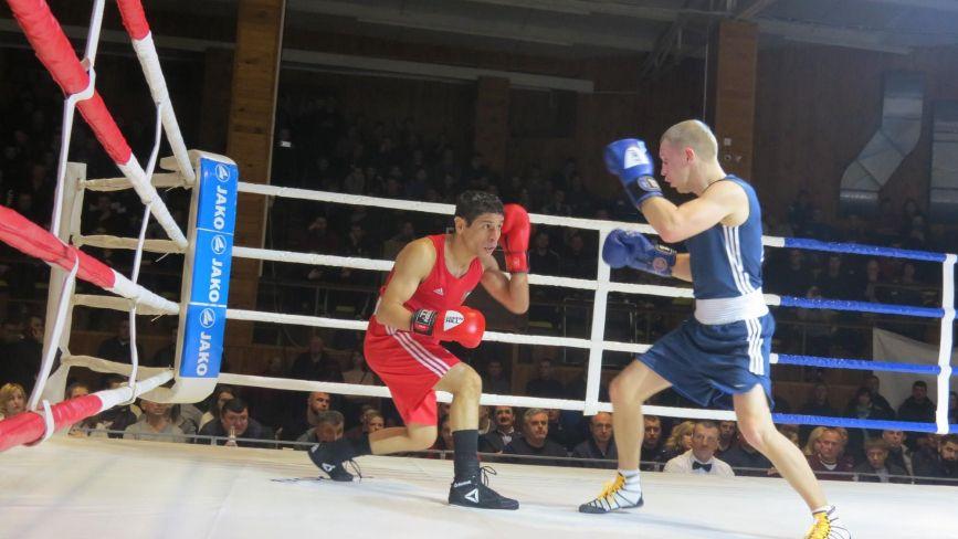 Збірна України з боксу у Вінниці перемогла Йорданію