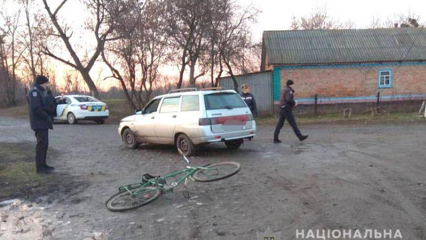 У Козятинському районі п'яний на «ВАЗі» збив велосипедиста
