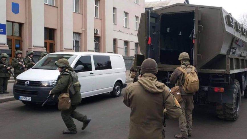 Спецоперація в суді на Соборній: гвардійці із судовою вартою вчилися «гасити» бунт