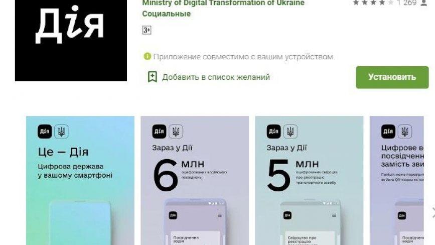 Водійське і техпаспорт тепер у смартфоні: як та де завантажити додаток «ДіЯ»?