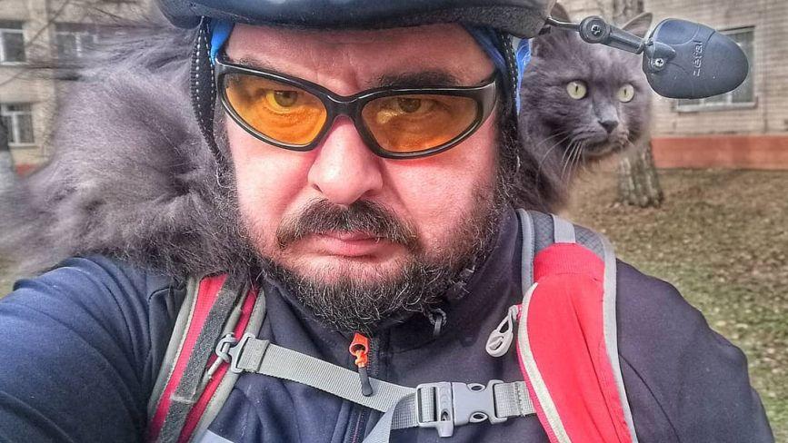 «В кишені маю дезінфектор, а на багажнику обприскувач»: як карантин вплинув на життя велоактивіста