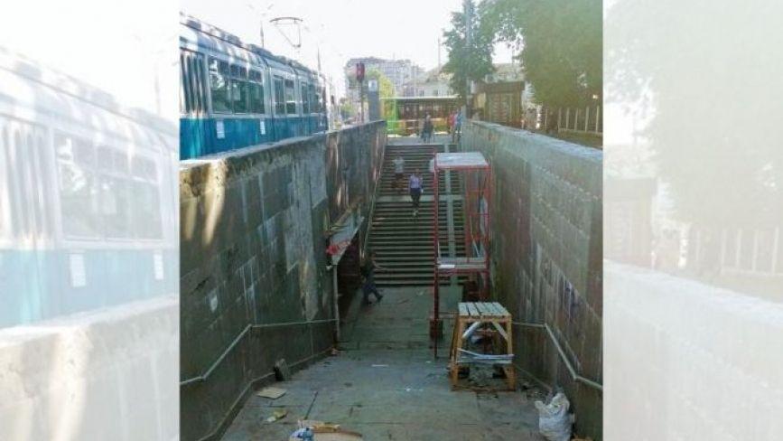 На Урожаї взялися за ремонт підземного переходу
