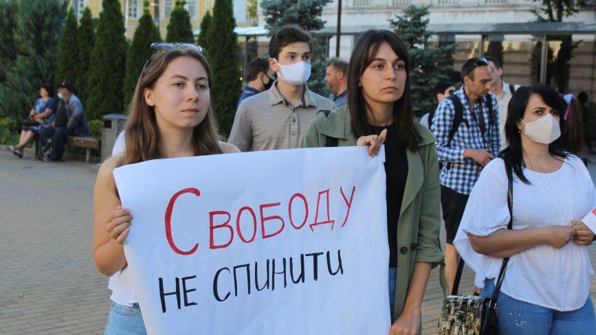 Вінничани підтримали білорусів і отримали повідомлення з Мінська: «Дякуємо, Вінниця!»