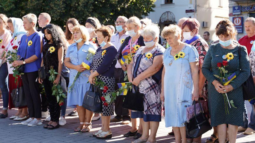 У центрі міста пройшов концерт-реквієм, присвячений Дню Пам'яті захисників