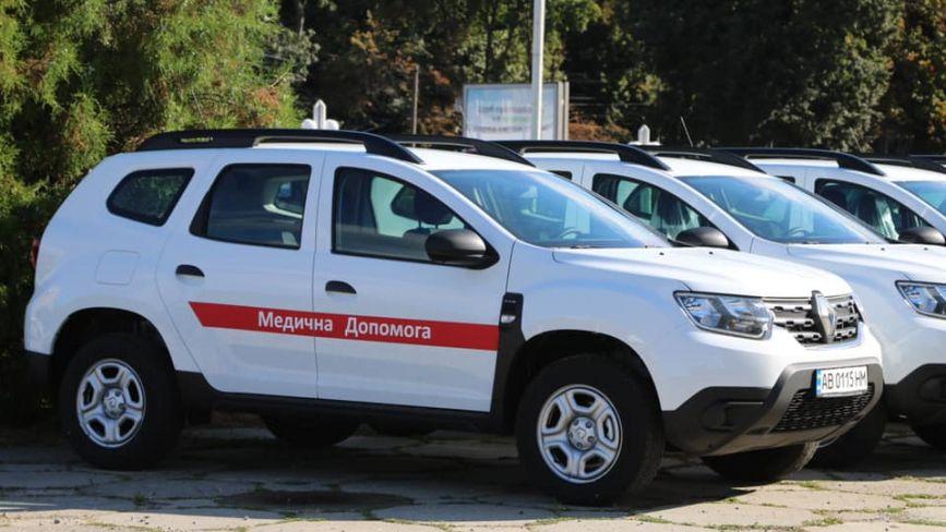 В громади передали 80 нових автомобілів для лікарів. Ще 44 — до кінця року