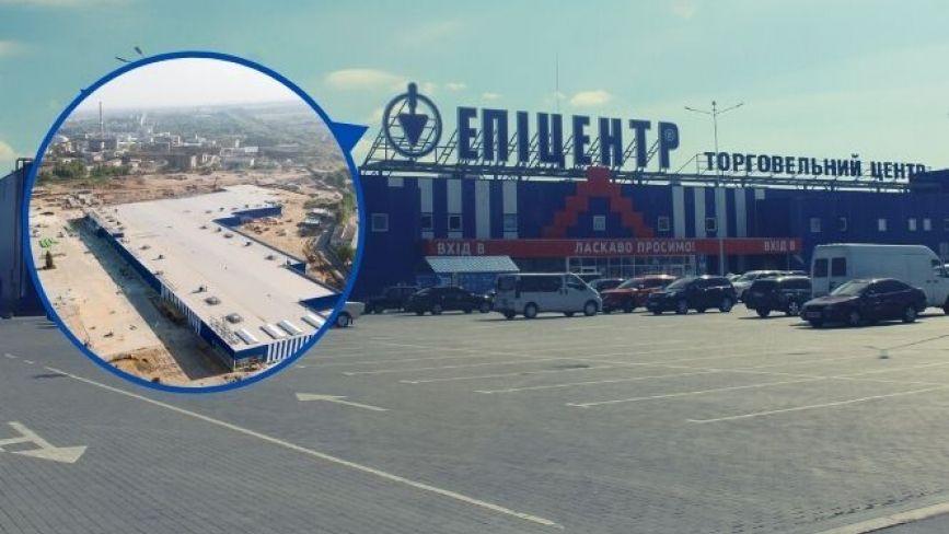 Мега-парковка з міні-сквером. Що є біля нового «Епіцентру» у Вінниці