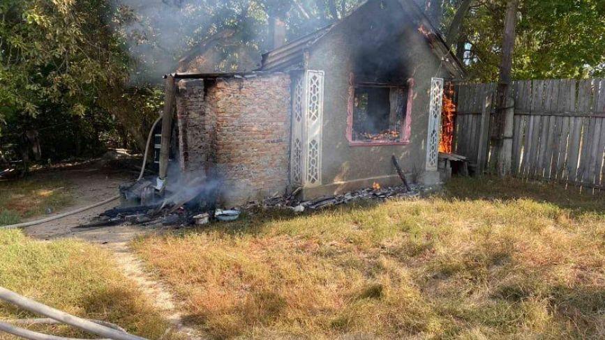 Смертельна пожежа в Олександрівці: через цигарку згорів чоловік