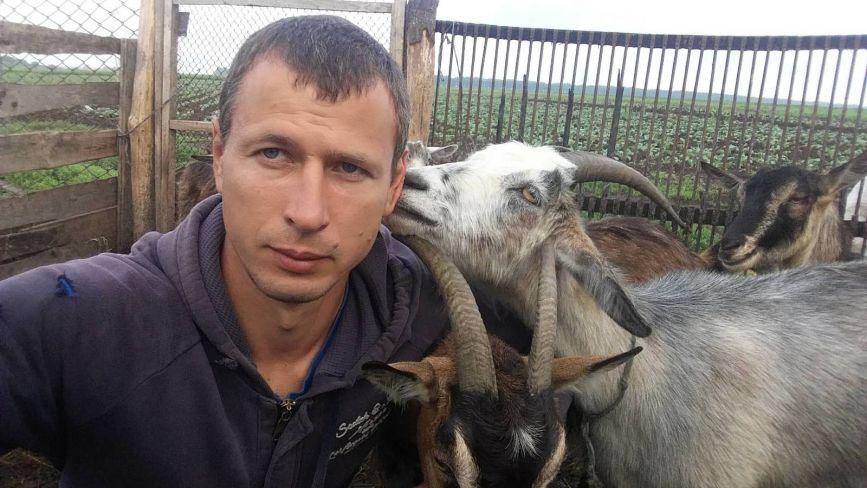 Переселенець з Криму робить козячий сир. Бізнес почав з тещиних кіз