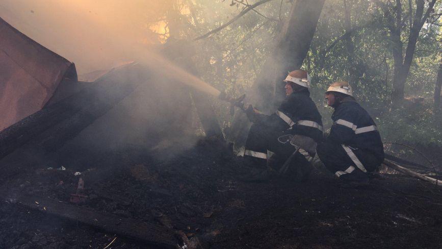 Тварини згоріли заживо. У Жмеринці діти підпалили господарчу будівлю з нутріями