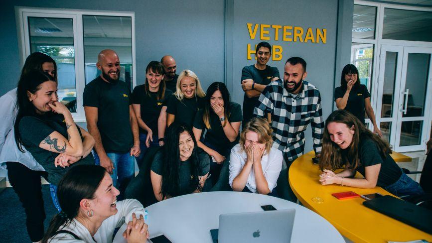 У Вінниці з'явився перший відкритий простір для ветеранів Veteran Hub