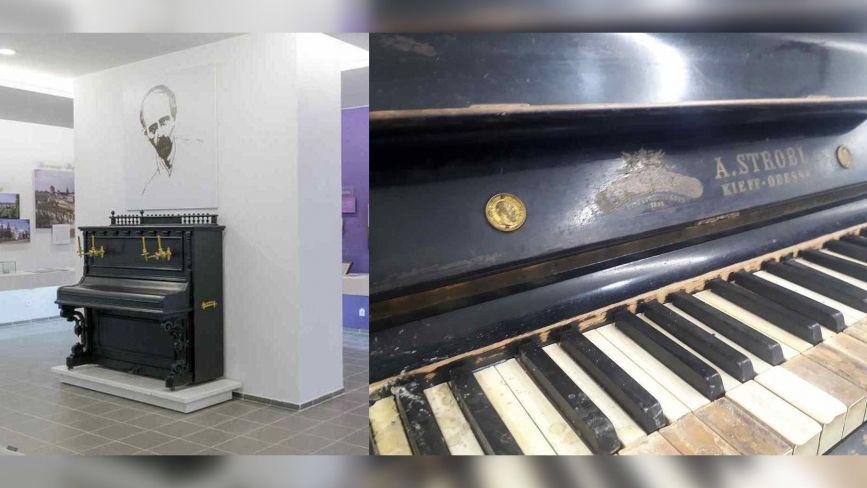Реставрацію легендарного піаніно Миколи Леонтовича призупинили. Немає коштів