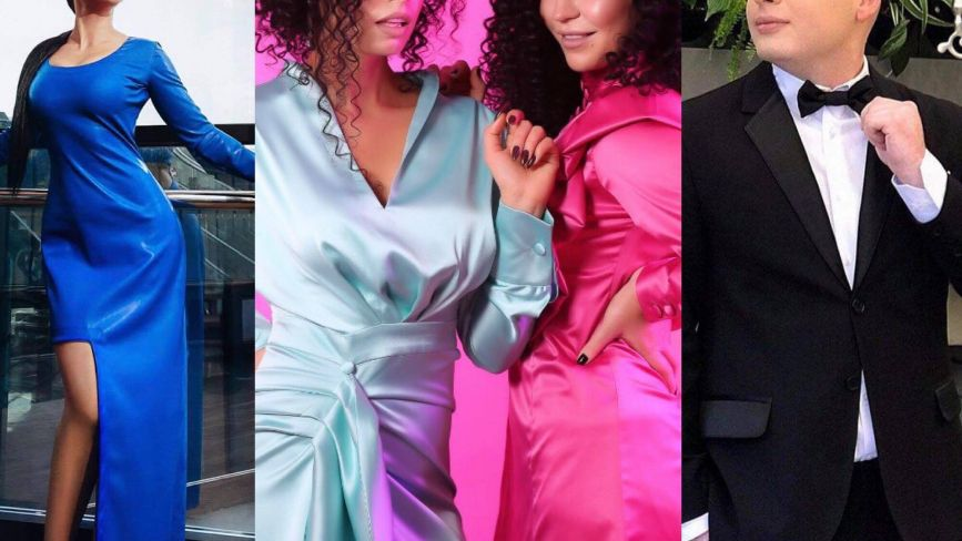 Сріблясті сукні, класичні смокінги. Вінницькі дизайнери радять вбрання на новорічні вечірки