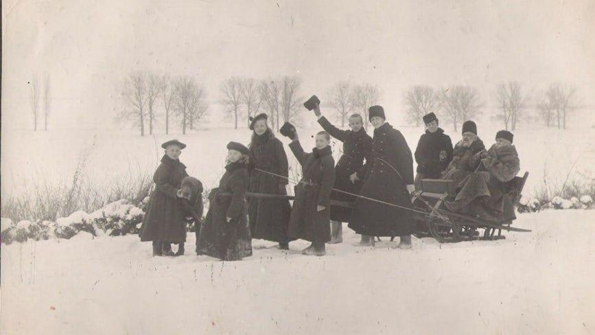 Як виглядала зима у Вінниці понад сто років тому: історики зібрали фото