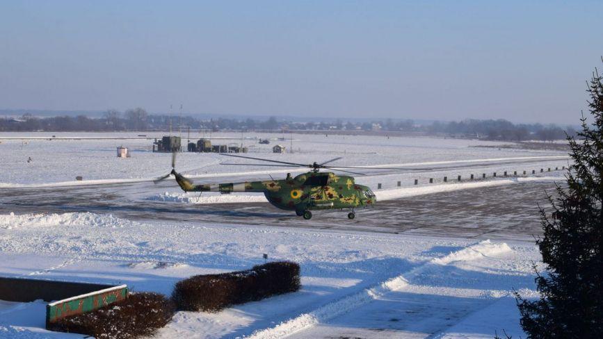 У військовій частині ім. Дмитра Майбороди відбулись планові польоти