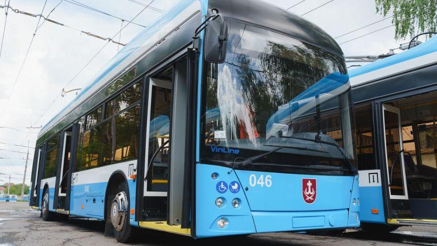 На запчастини для тролейбусів VinLine хочуть витратити понад 66 мільйонів гривень