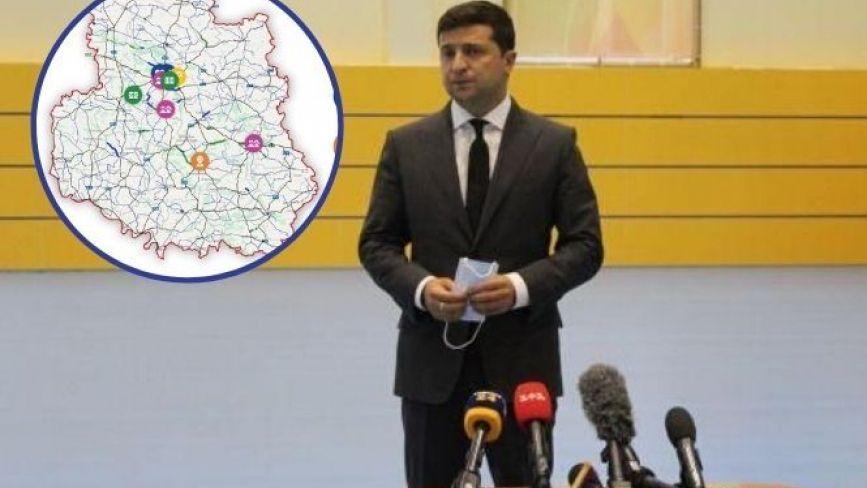 Які об'єкти у Вінниці стануть «Великим будівництвом» президента Зеленського
