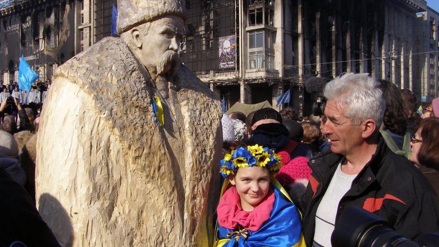 До виготовлення скульптури Шевченка вінничанин залучив понад 10 тисяч людей. Де вона нині?