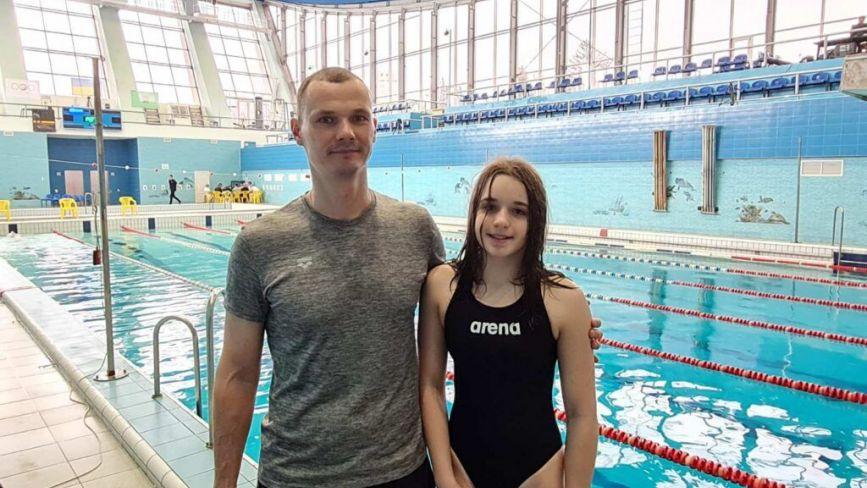 Вінничанка Анна Ткаченко здобула бронзу на чемпіонаті України з плавання