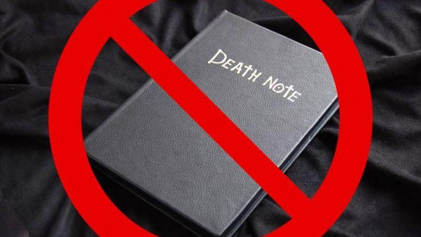 Зошити смерті. У Вінниці школярам продають книжки за мотивами аніме,  заборонені за кордоном