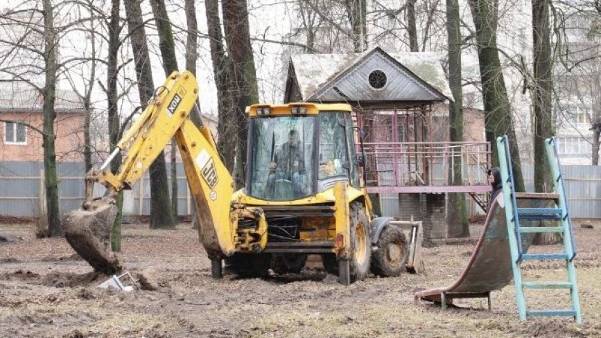 Завершити ремонт парку «Хімік» планують до осені. Що там буде?