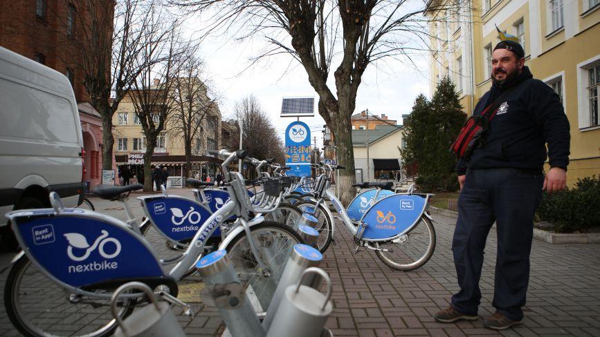 «Вже можна користуватися»: у Вінниці стартував сезон велопрокату Nextbike