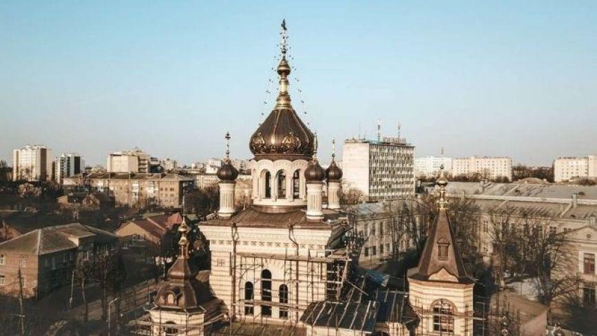 Вінницький храм, який біля Будинку офіцерів, є копією церкви в Криму