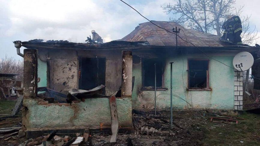 Пожежа у Монастирському. Чоловік спалив хату своєї колишньої дружини