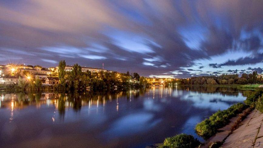 Вінниця стала першою у рейтингу найкрасивіших вечірніх пейзажів України. ФОТО ДНЯ