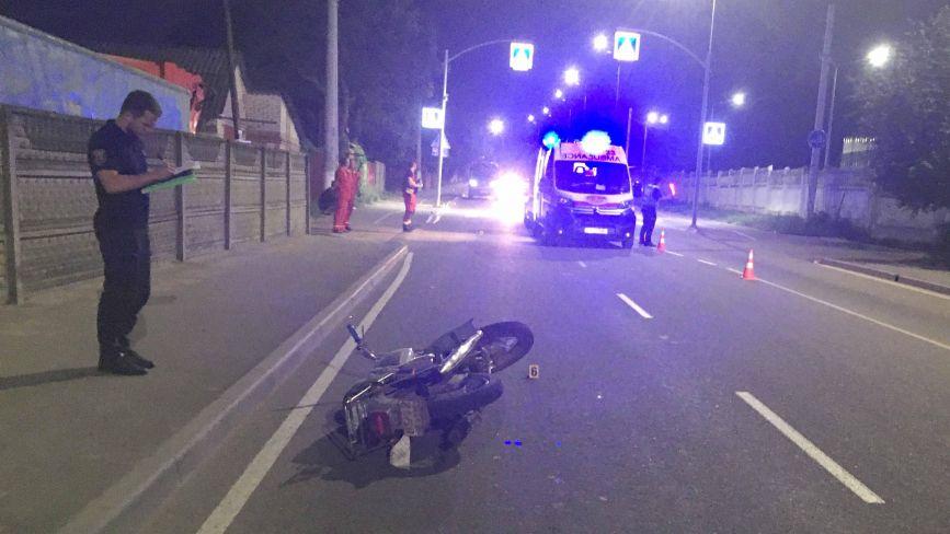 На Нечая перекинувся «ІЖ». По дорозі до лікарні 37-річний мотоцикліст помер